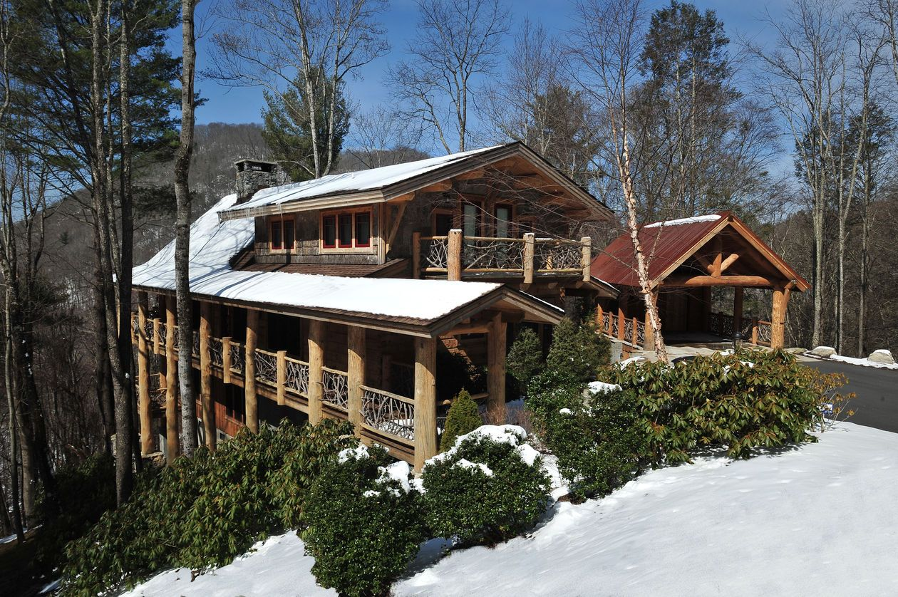 exterior vacation nob dereka search cabins nc hn in cabin mountain s rentals hemlock ski sugar out