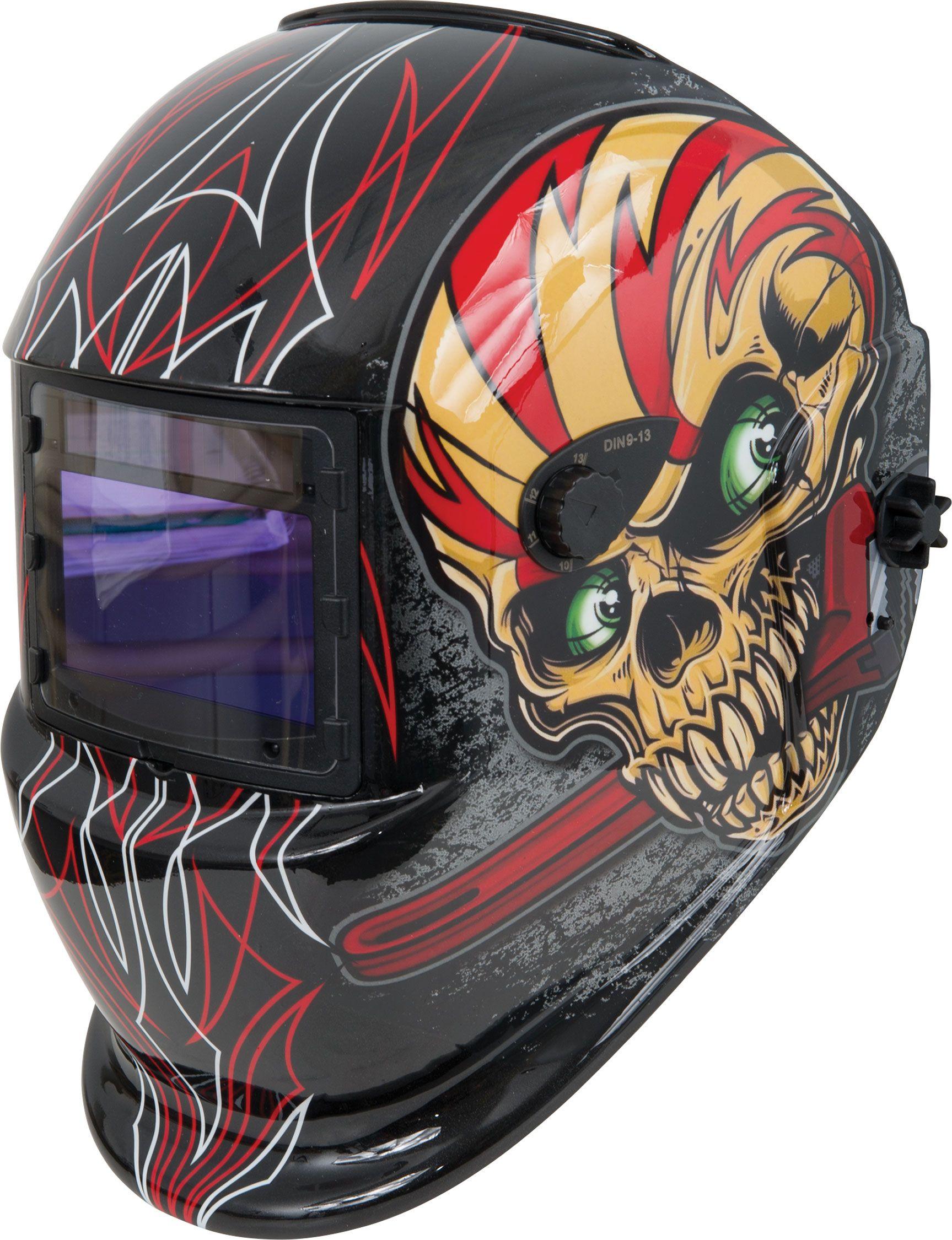Custom Welding Helmets >> Shop Iron Skull Wrench Variable Shade Auto Darkening Welding