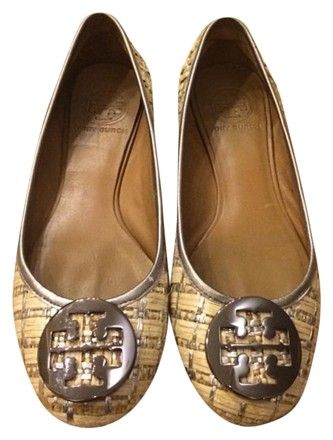 Tory Burch Raffia Logo Loafers popular cheap online outlet for cheap cheap online store amazing price cheap online SphcqpFVS