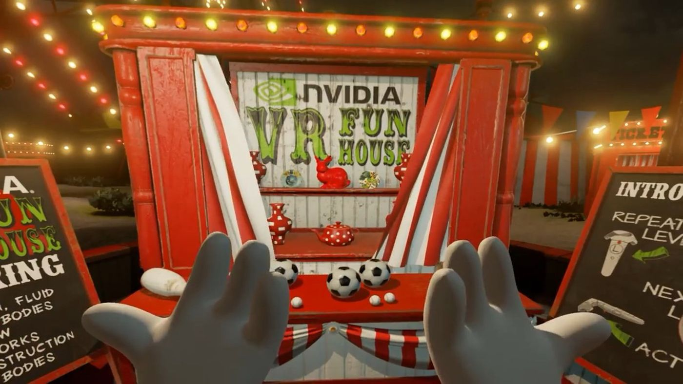 Pin by StyleTech News on Virtual Reality Carnival games