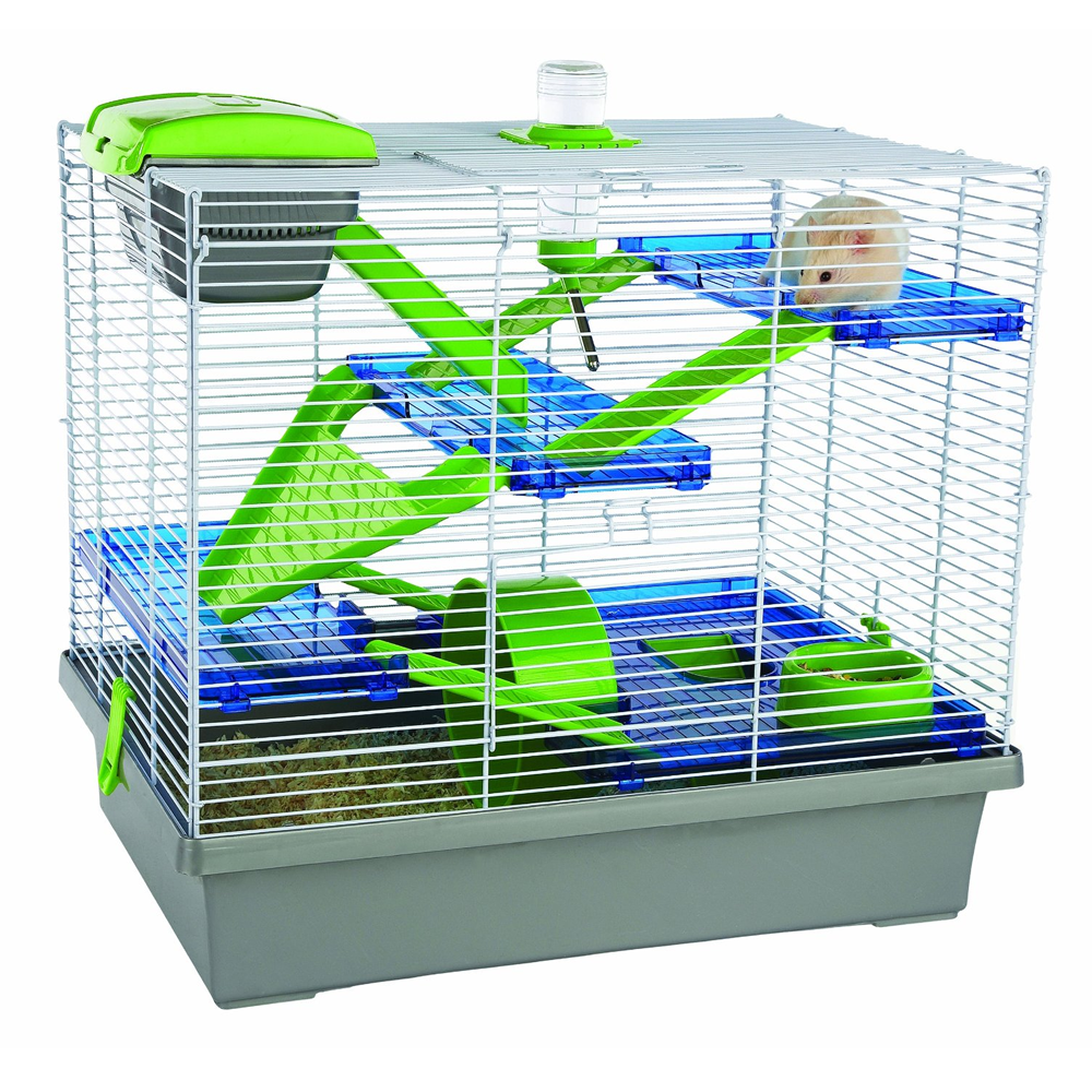 Pico Silver Hamster Cage Extra Large Free Delivery Small Animal Cage Hamster Cage Cool Hamster Cages