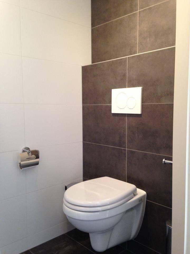 Toilet maarssen met tegel casa grafiet en mat wit 30x60 uit onze huiscollectie - Mat tegels ...
