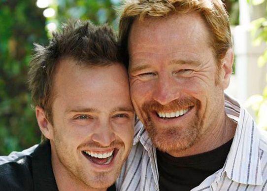 Bryan Cranston & Aaron Paul (Walter White & Jesse PInkman)