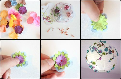 Tutorial luminaire fleurs ment faire une suspension suspension