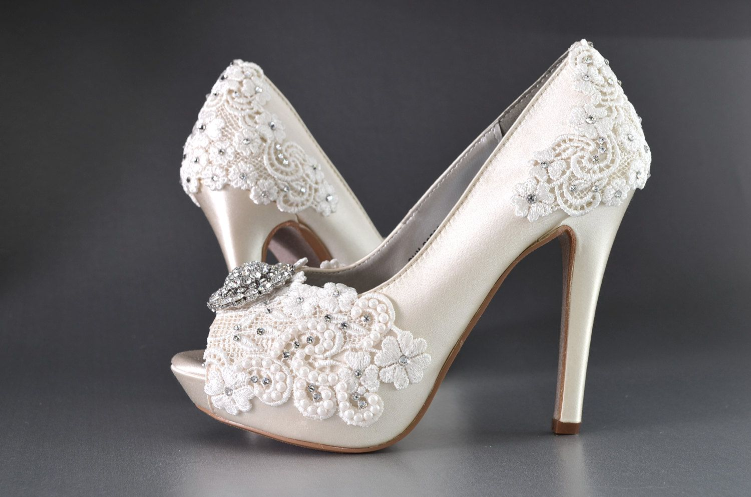 80206059751 Wedding Shoes Womens Wedding Heels Women s Bridal by Pink2Blue ...