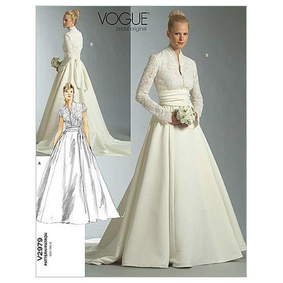 Mccall Pattern V2979 A (6 - 8 - 10) - Vogue Pattern