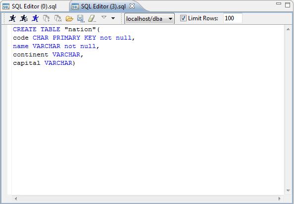 أساسيات قواعد البيانات أوامر إنشاء أو تكوين جدول في قاعدة البيانات Sql Create Table In Database Coding Language Development