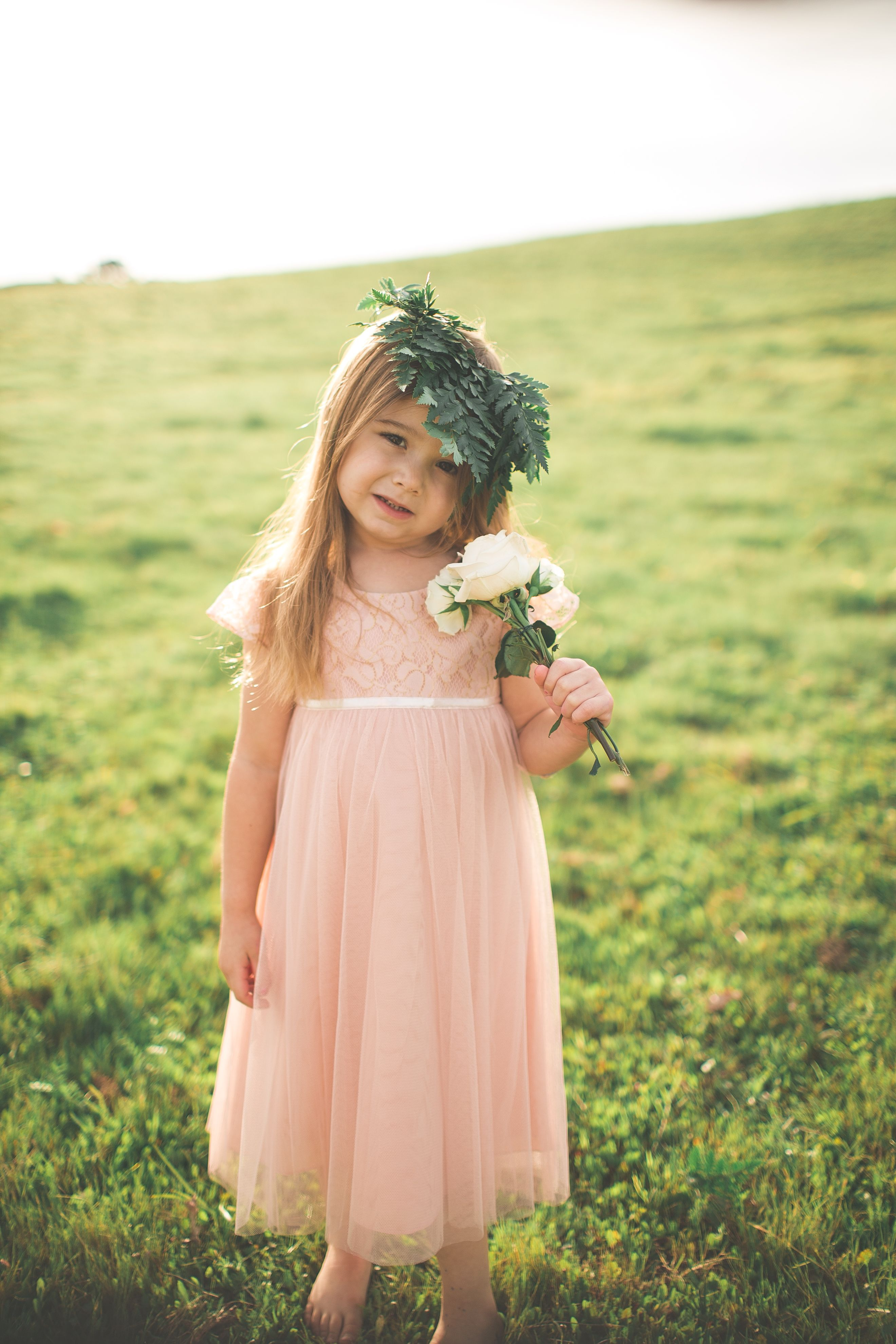 0a21f099d April Flower Girl Dress by Jenny Yoo $175 {photo by Andrea Lowry ...
