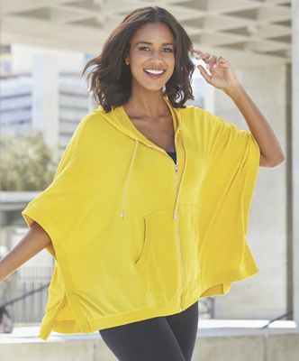 e776f1cdc74aa Bright Active Poncho from Midnight Velvet.
