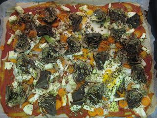Pizza De Trigo Sarraceno Con Verduras Y Huevo Verduras Trigo Pizza