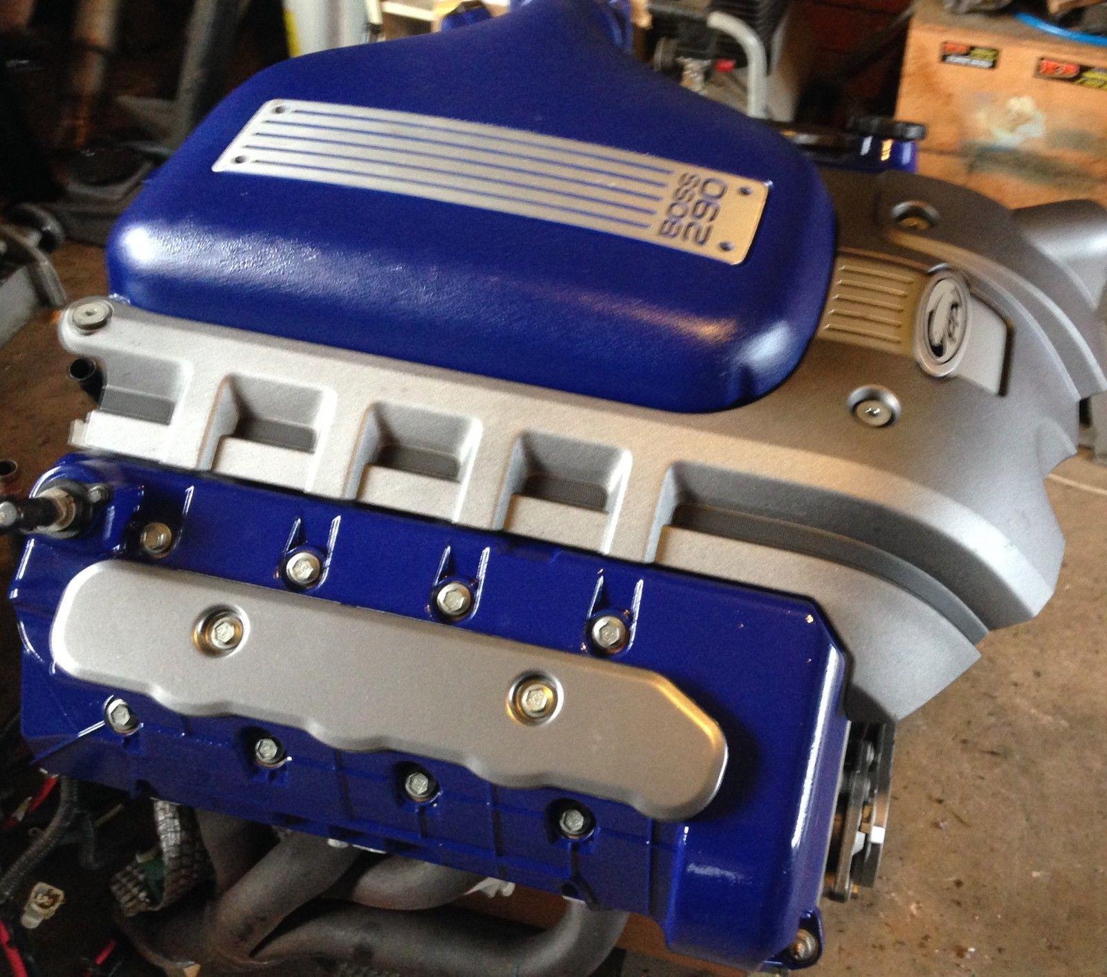 Ford boss 260 5 4l built motor forged manley pistons rods boss 260 fpv in