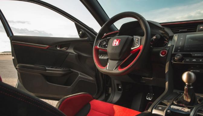 2019 Honda Civic Type R Interior Honda Civic Type R Honda Civic Honda