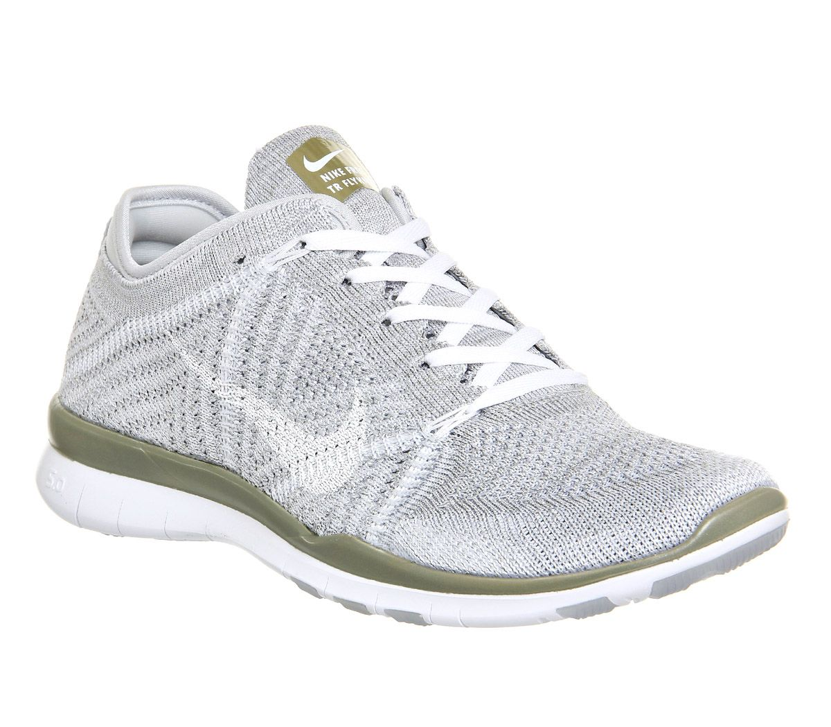 Pure Platinum Gold Nike Free Tr Flyknit From Office Co Uk