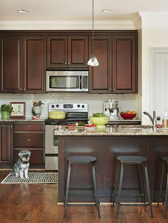 shaker kitchen cabinets cherry ^Kitchen Design Ideas^ Pinterest