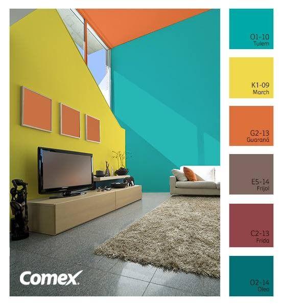 muestrario de pinturas de espacios interiores - Buscar con Google ...