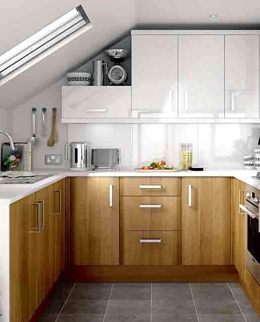 Más Ideas para Decorar Cocinas Pequeñas Decorar cocinas pequeñas