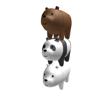 The Bear Stack Roblox Joey Bear Bare Bears We Bare Bears