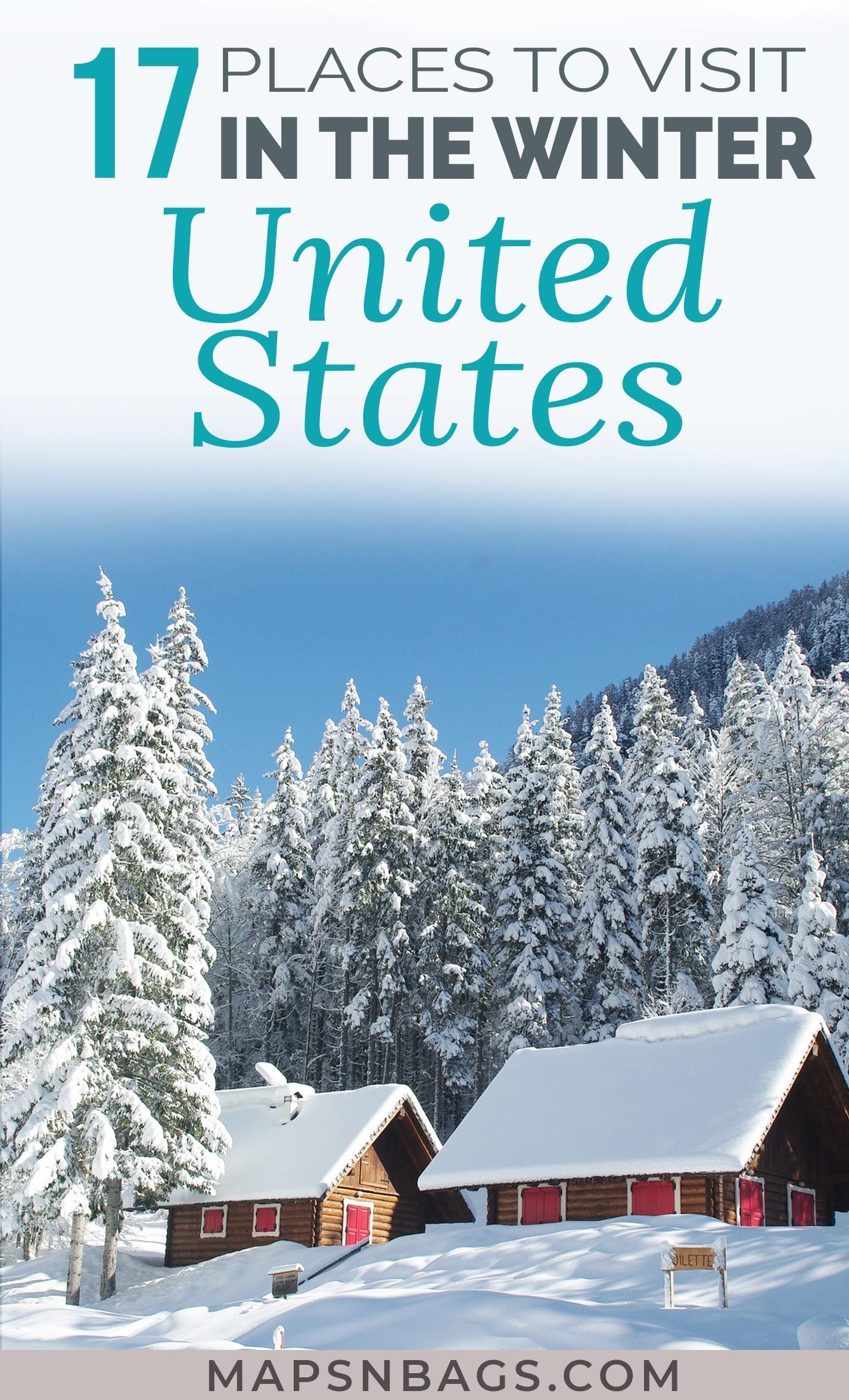 20 Best Winter Vacation Spots In The Us Travel Ski Trip Ideas