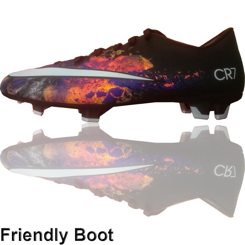 The Football Nation Ltd - Nike CR7 Mercurial Victory Boots (FG - Black /Crimson