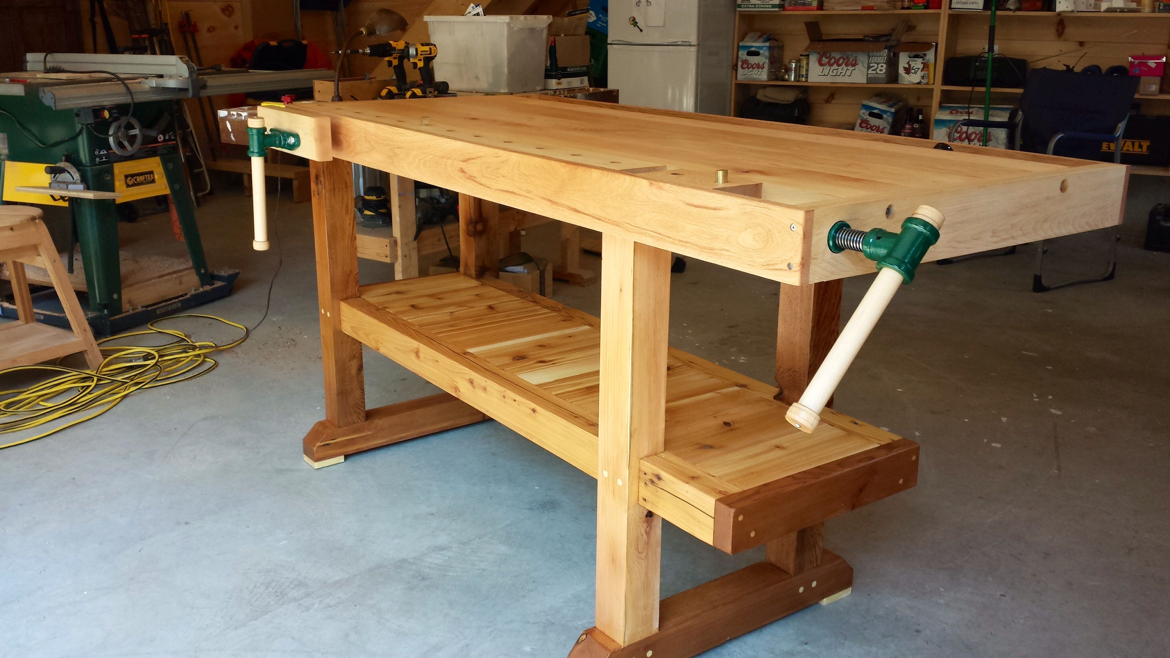 Astounding Workbench Cabinet Makers Bench Just Finished Hard Maple Gmtry Best Dining Table And Chair Ideas Images Gmtryco