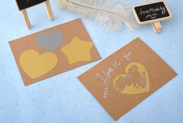 Eigen kraskaart maken, Webwinkel www.leukidee.info  Deeplink: http://www.leukidee.info/leuk-cadeau/eigen-kraskaart-maken