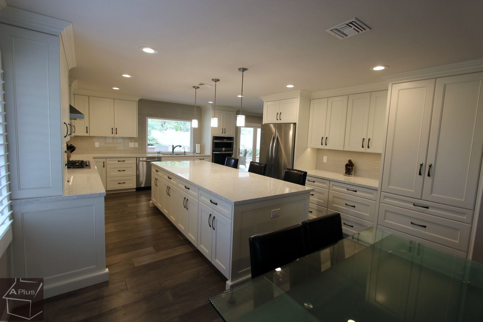 Transitional Kitchen U0026 Home Remodel With #custom White Cabinets In Yorba  Linda Orange County