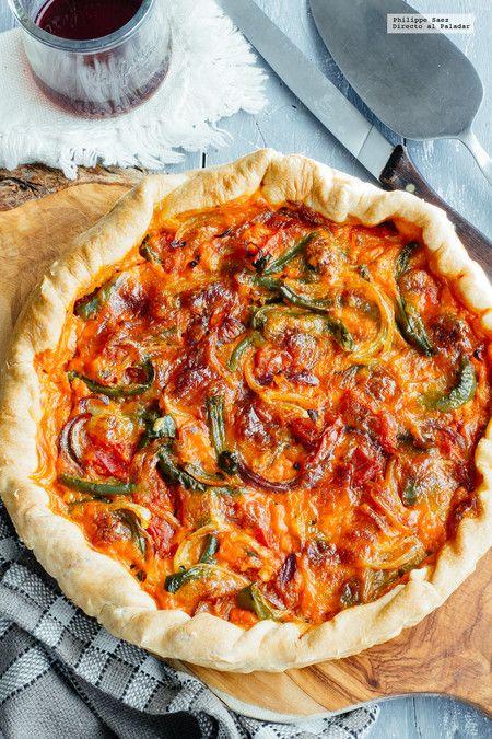 Quiche de verduras receta vegetariana f cil receta for Quiche de verduras facil
