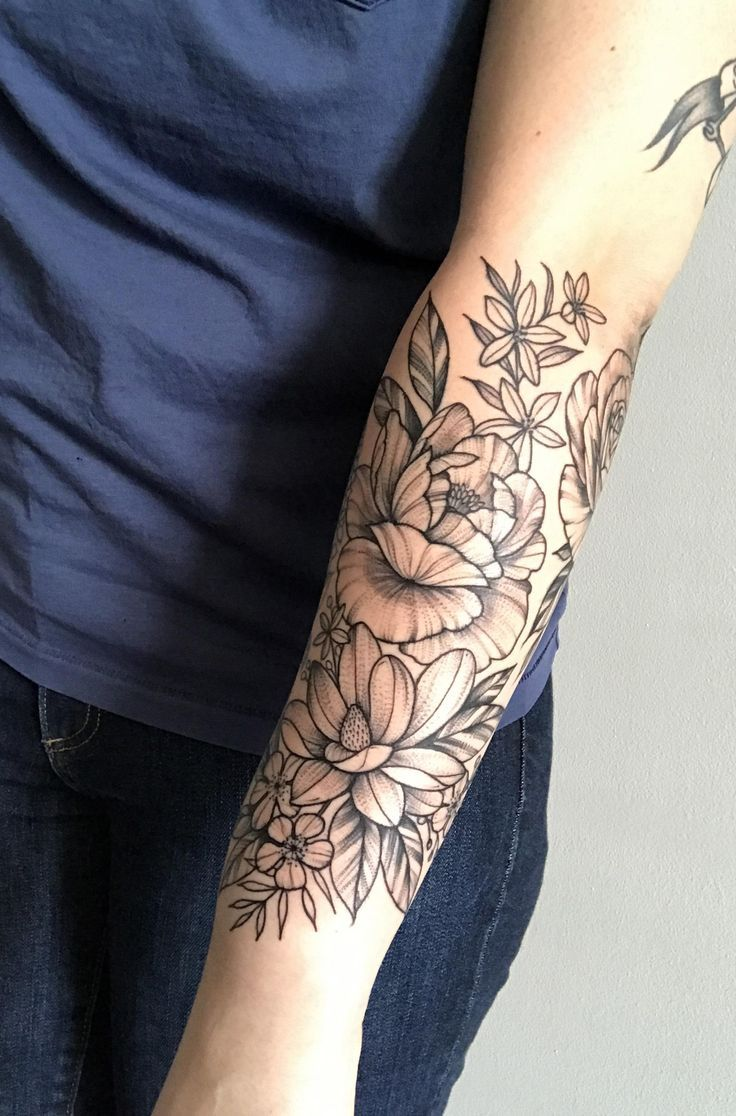Image result for forearm sleeve tattoo girl | Tattoo | Pinterest ...