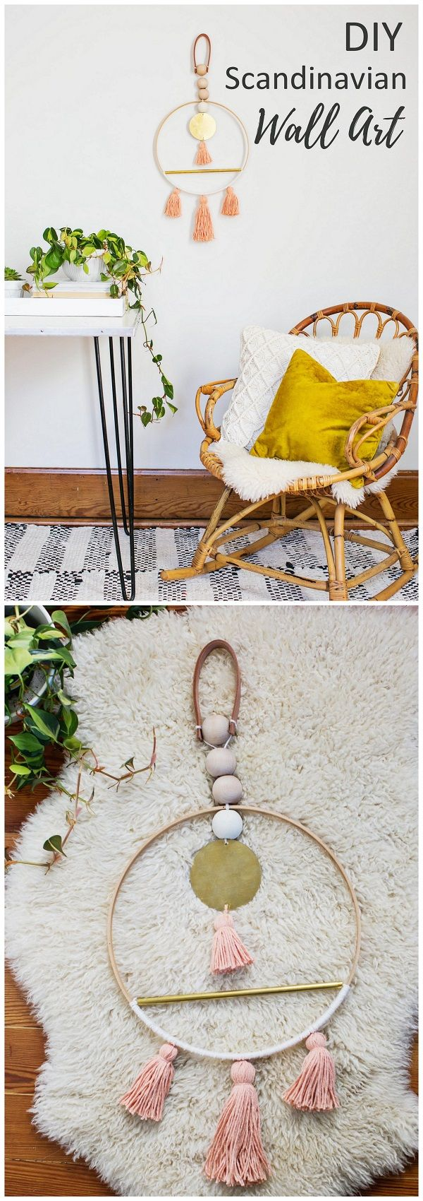 15 Most Gorgeous Scandinavian DIY Home Decor Projects | Craft, Decor ...