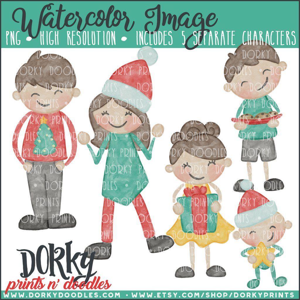 d11b915cd Silly Reindeer Christmas Clipart