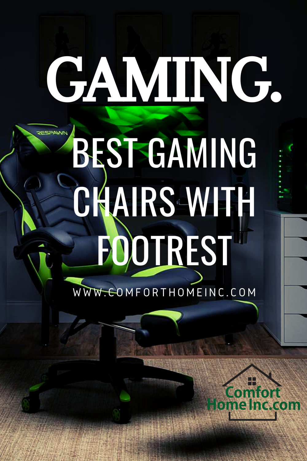Best Gaming Chairs With Footrest in 2020 Gaming chair