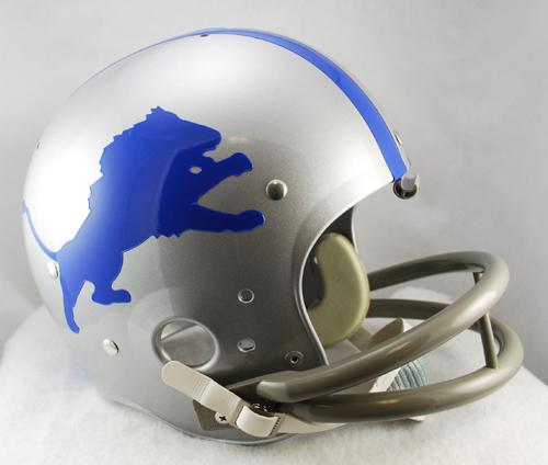 Detroit Lions 1962 To 1968 Tk Throwback Football Helmet Football Helmets Detroit Lions Detroit Lions Helmet