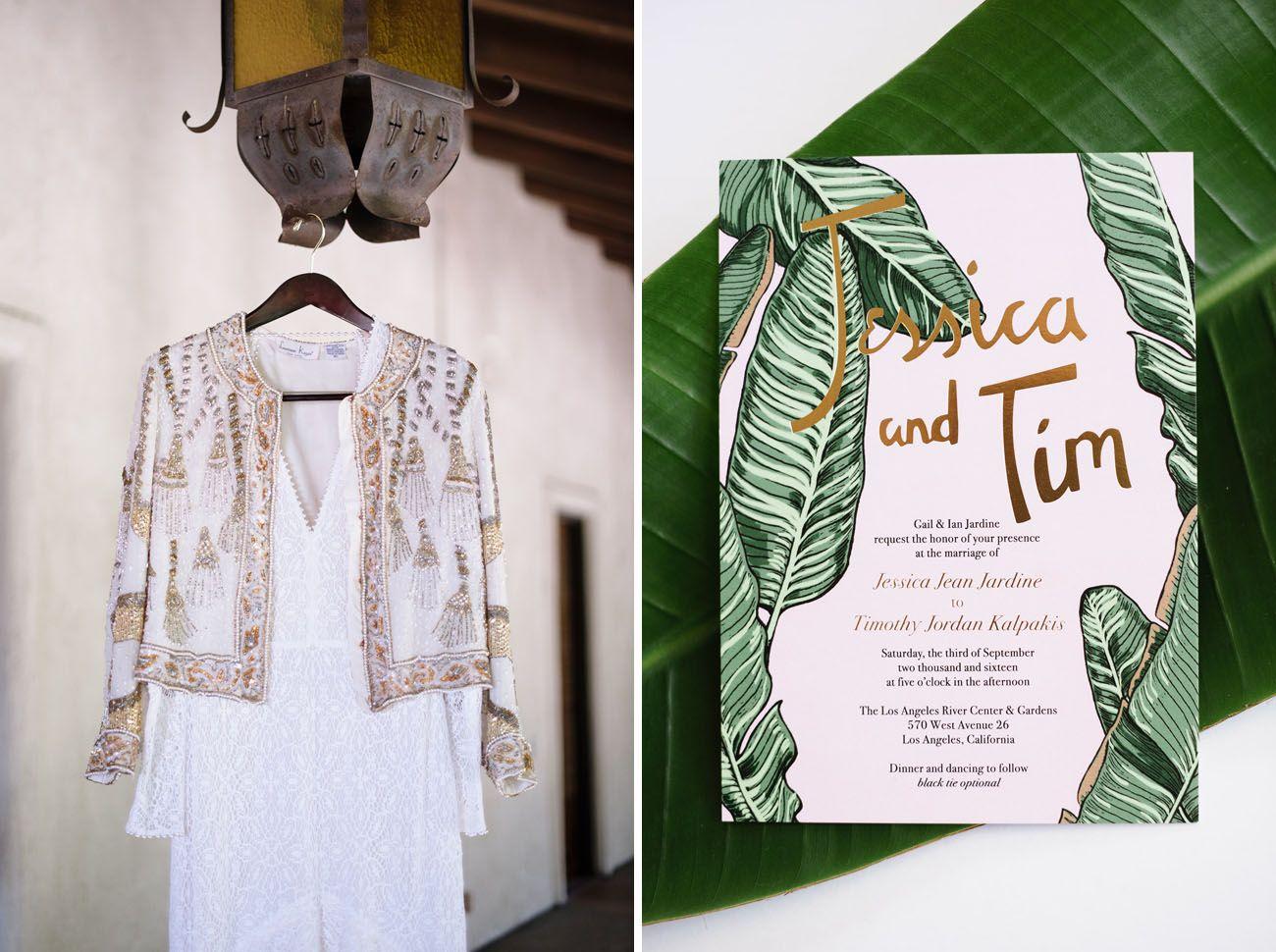 Tropical Glam Wedding
