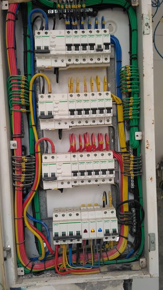 Pin By Ebrahim Abdelhady On Electrical Technology Home Electrical Wiring Electrical Wiring Electrical Projects