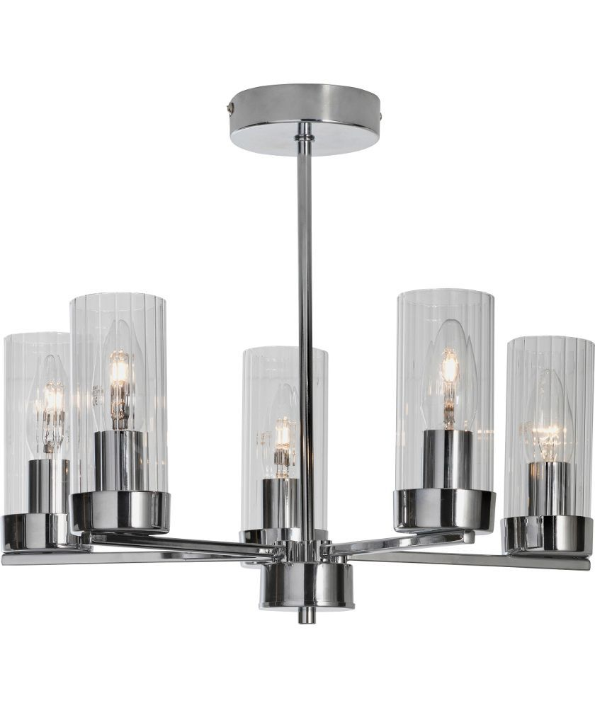 Buy heart of house wallis 5 light ceiling fitting chrome at argos buy heart of house wallis 5 light ceiling fitting chrome at argos aloadofball Image collections