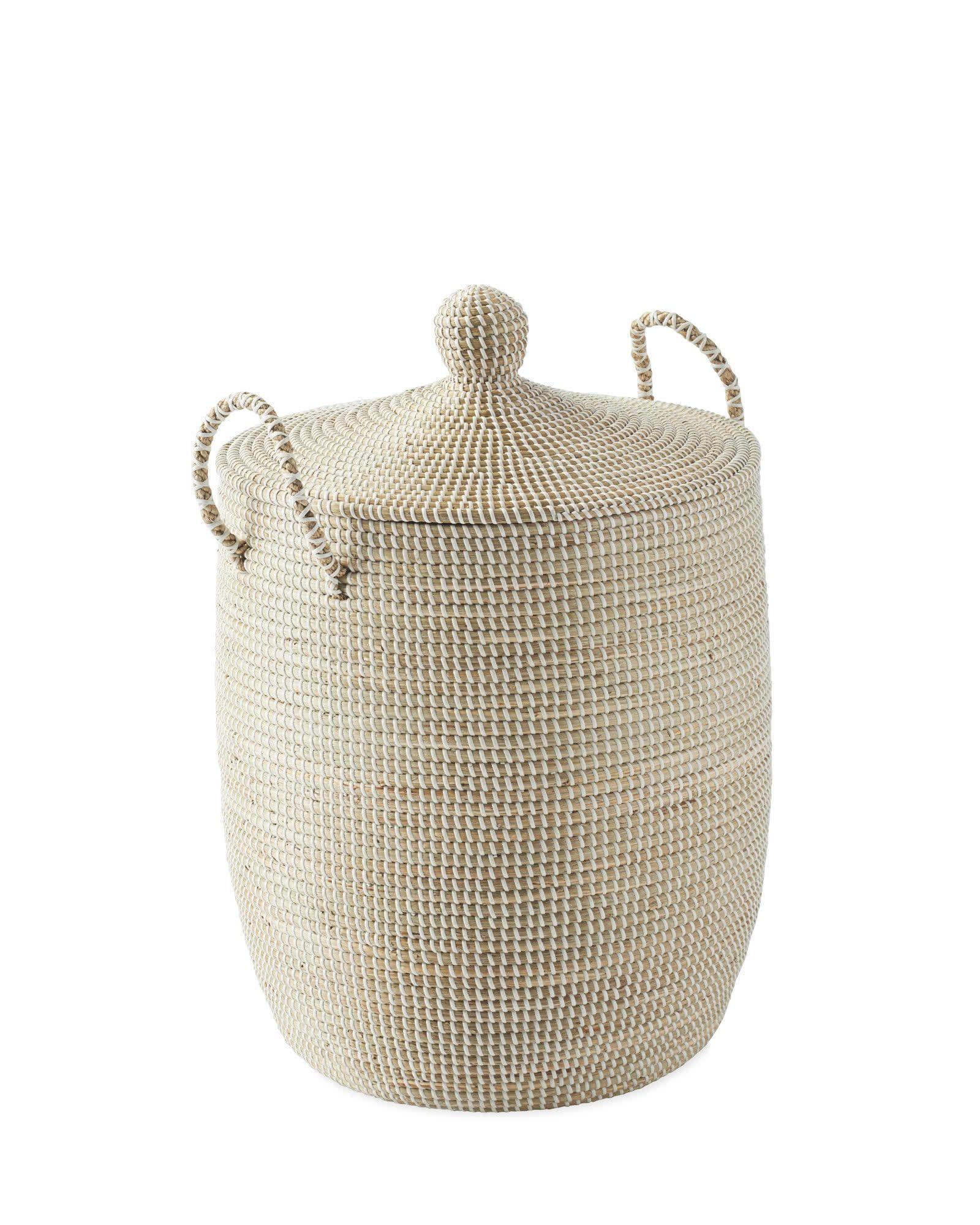 Solid La Jolla Baskets White Serena Amp Lily In 2020