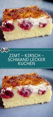 Photo of Zimt – Kirsch – Schmand LECKER Kuchen – Die Küche – #die #Kirsch #Küche #Kuche…