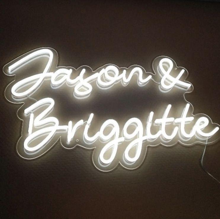 Custom NEON Name Sign wedding neon light sign Neon