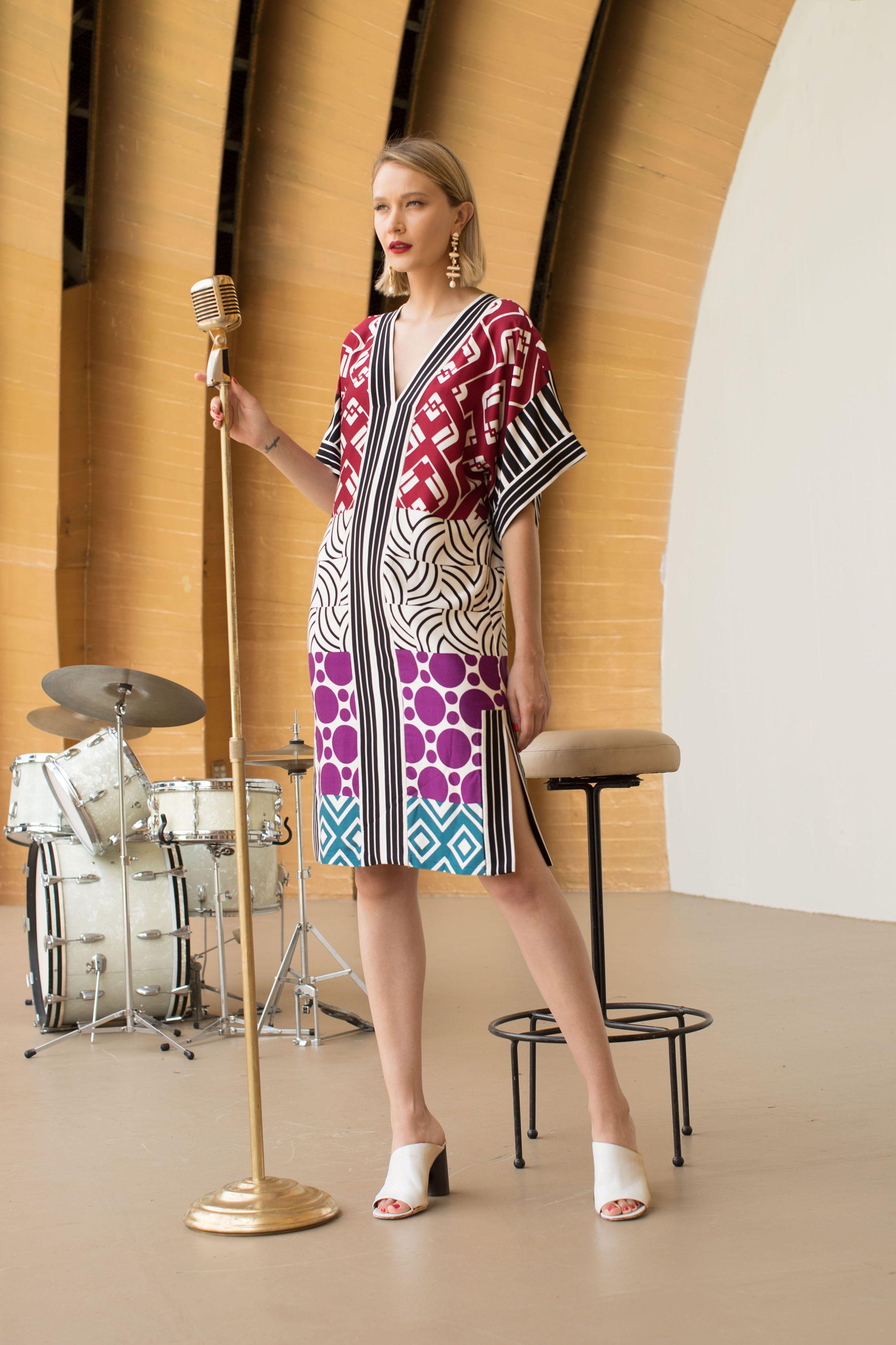 4ac275637b772 Bessie Dress   Trina Turk Resort 2018   Lookbooks in 2019   Fashion ...