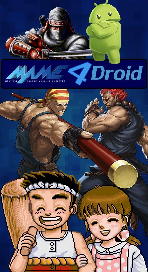 MAME4droid El Mejor Emulador De Juegos Árcade Para Android