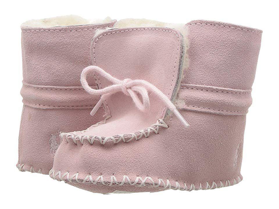 9fcf5de1e Polo Ralph Lauren Kids Pocono (Infant) Girl's Shoes Light Pink Suede ...