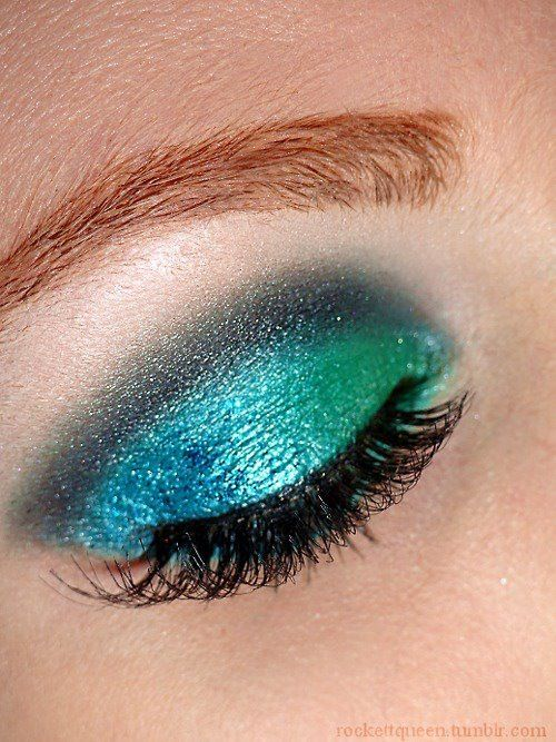 ocean colored smoky eye | Beauty, Teal eyes, Summer beauty