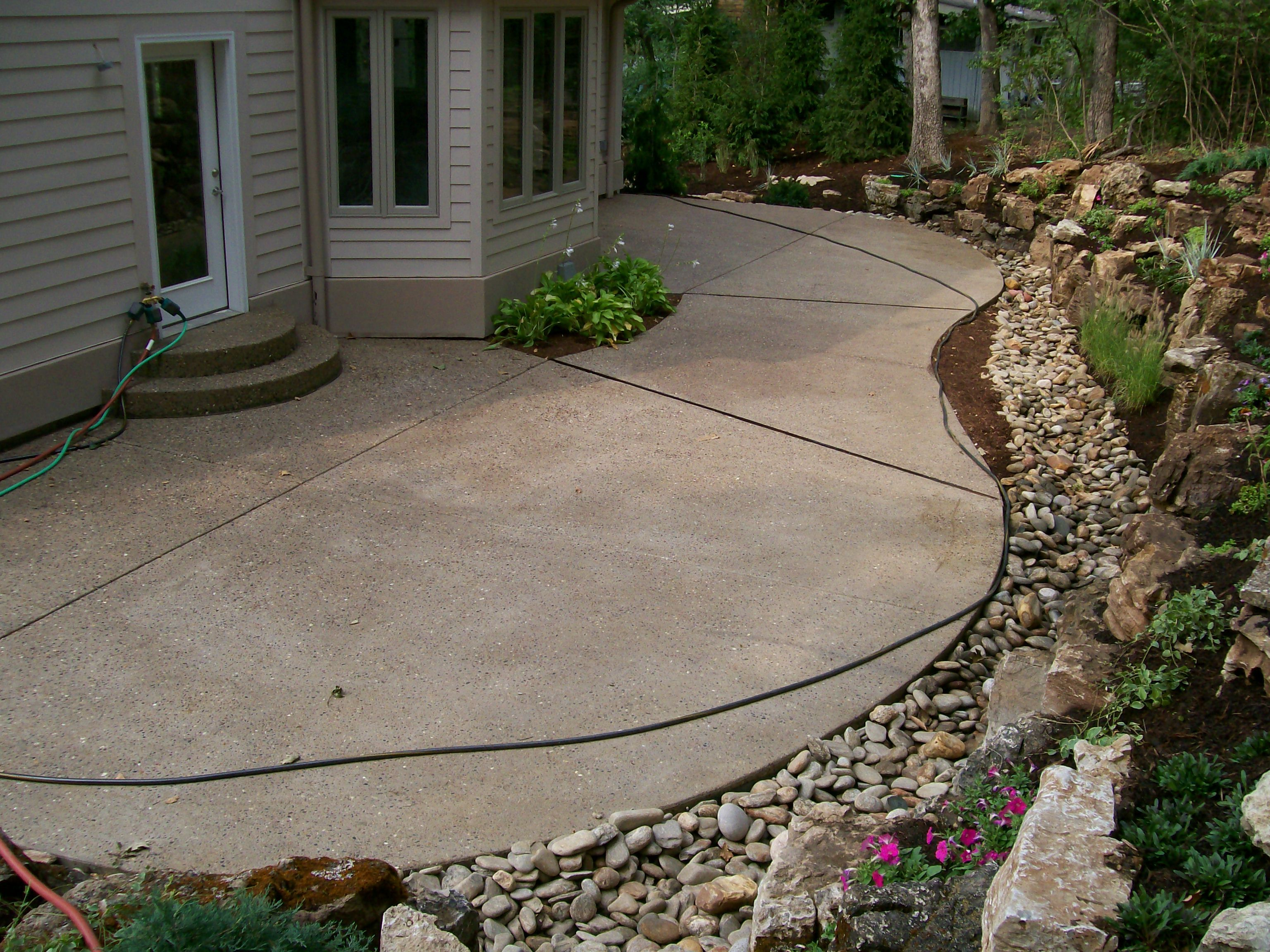 Another custom concrete job by t h foundations st