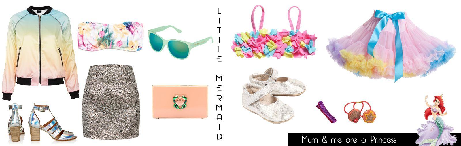 Mum & Baby Disney Inspiration Seapunk style