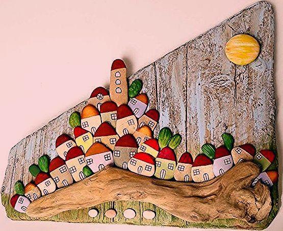 Photo of Naturstein Malerei Tableau | Haus Deko Ideen – Part 10 – Einrichtungsideen