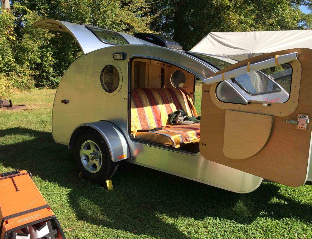 Just Hanging Camping Mini Caravana Remolques Mini Casa Rodante