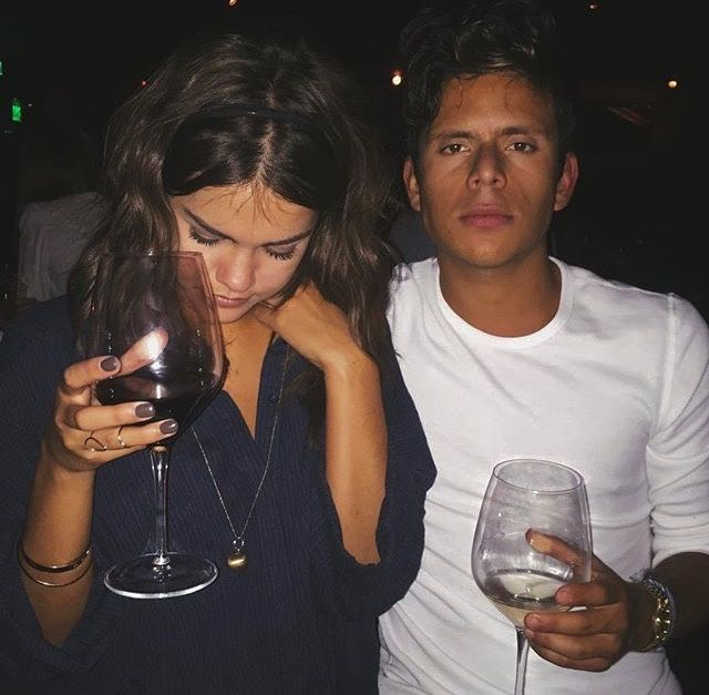 Rudy Mancuso And Maia Mitchell Kissing