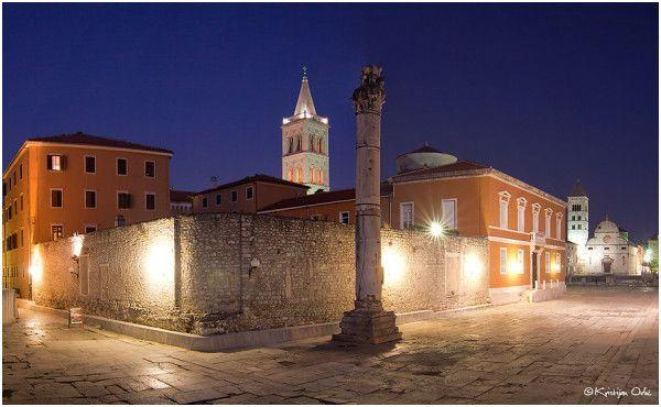 Zadar by night #zadar #croatia #photo #photography