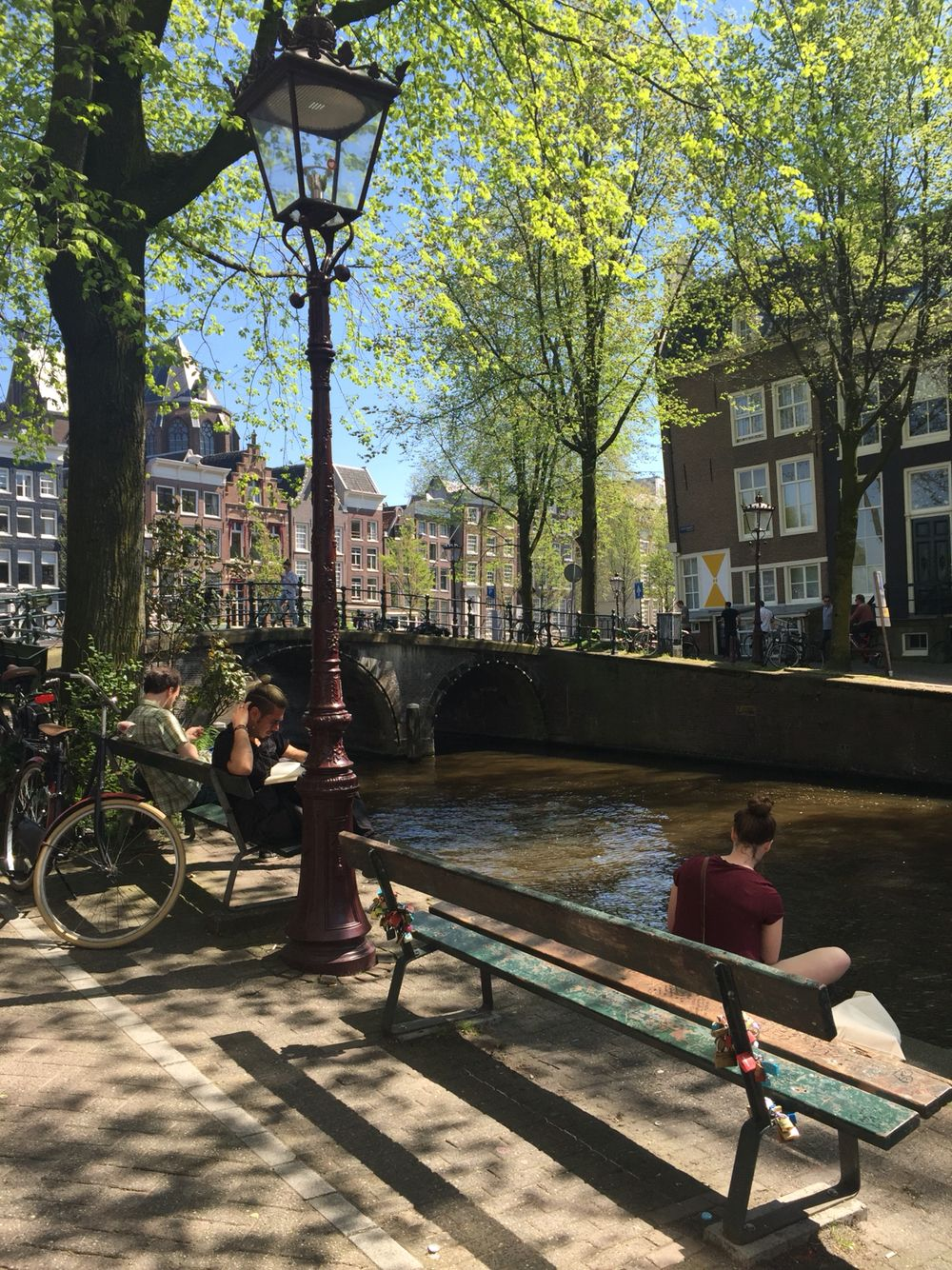 Bankje The Fault In Our Stars.Amsterdam The Fault In Our Stars Bench 08 05 2016 Traveling In
