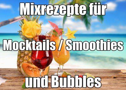 *!! Mocktails - Smoothies - Bubbles   !!     Party-Drinks für Ihre Gäste, die keinen Alkohol trinken. Mixrezepte für Mocktails-/Smoothies und Bubbles von:  A  bis  Z . Rezepte, mit deren Ergebnissen Sie Ihre Partygäste auch ohne Alkohol begeistern werden. http://www.cocktail-mixrezepte-verzeichnis.de/#cocktailrezepte-ap-mocktails